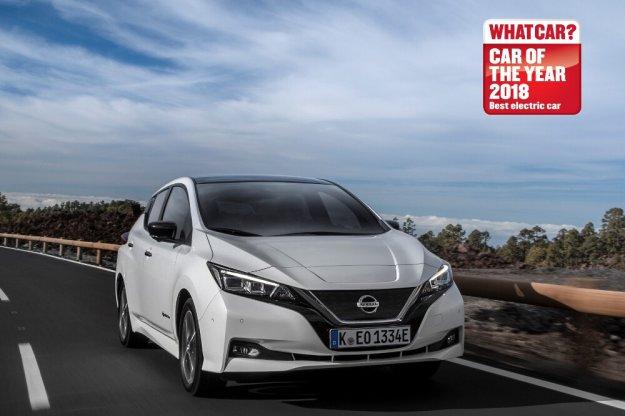 Nowy Nissan Leaf z tytułem elektrycznego samochodu roku