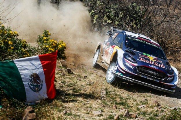 Ciężki rajd Meksyku dla Sebastiana Ogier