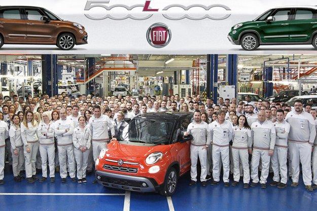 Fiat 500L osiąga pół miliona sprzedanych modeli
