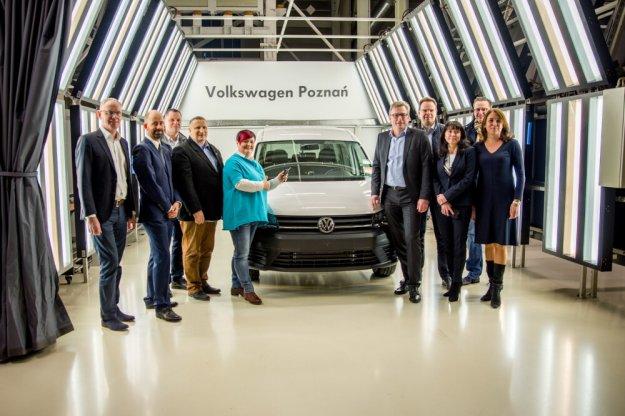 Dwa miliony Volkswagen Caddy z fabryki w Poznaniu