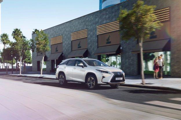 Lexus RX w nowej wersji rodzinnej L