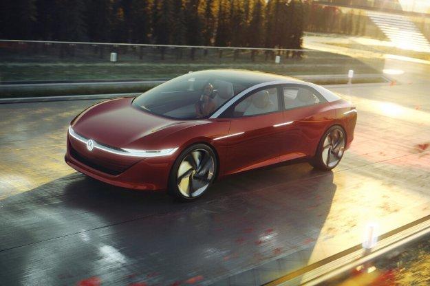 Volkswagen I.D. Vizzion przyszłość motoryzacji