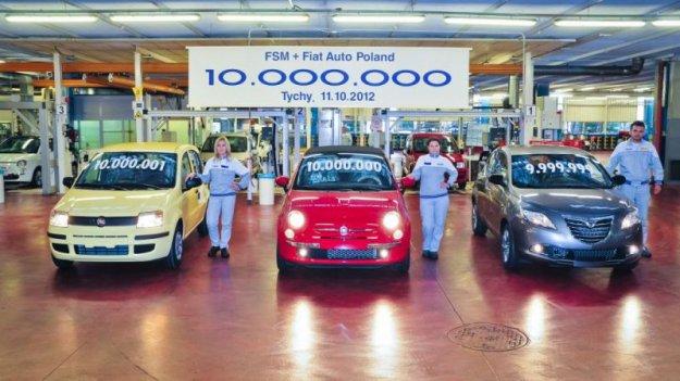 Pokaźna produkcja polskich zakładów Fiata