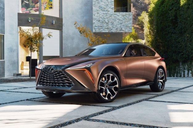 Przyszłościowa wizja wyżej zawieszonych modeli marki Lexus