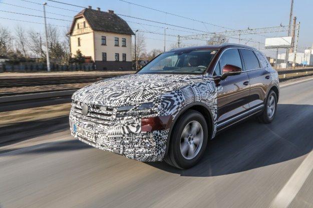 Volkswagen Touareg w drodze na swoją premierę