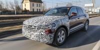www.moj-samochod.pl - Artykuďż˝ - Volkswagen Touareg w drodze na swoją premierę