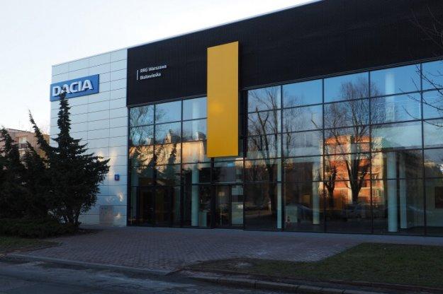 Nowy salon Renault i Dacia w Warszawie
