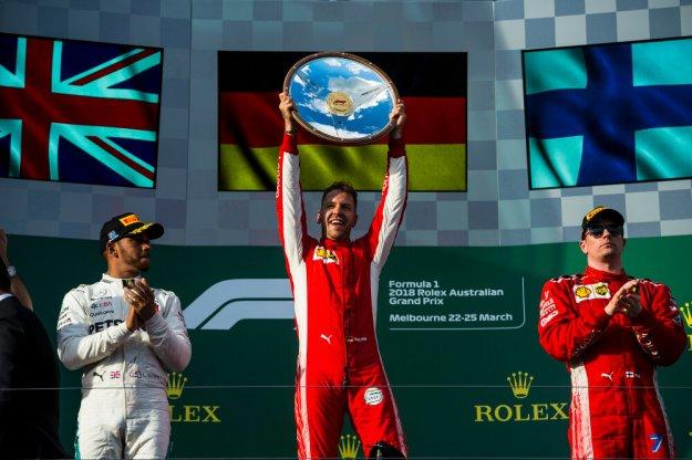 Dobry start Ferrari w nowy sezon F1