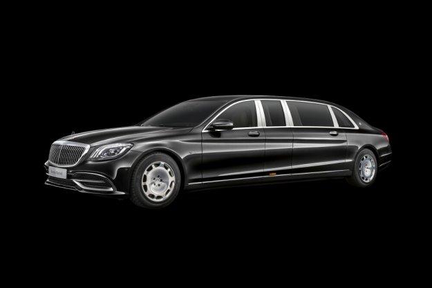 Flagowy Mercedes-Maybach Pullman w nowej odsłonie