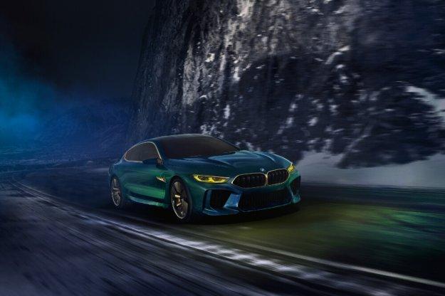 Zachwycające BMW Concept M8 Gran Coupe