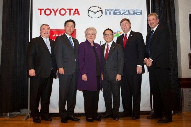 Mazda i Toyota łączą siłę w Stanach Zjednosczonych