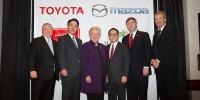 www.moj-samochod.pl - Artykuďż˝ - Mazda i Toyota łączą siłę w Stanach Zjednosczonych