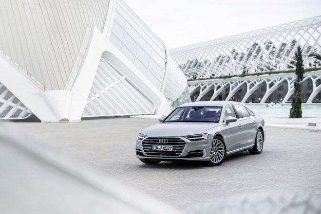Audi A8 luksusowym samochodem roku 2018