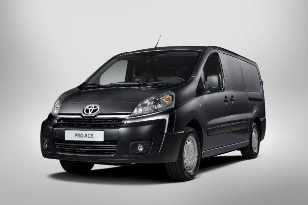 ProAce - nowy miejski transportowiec Toyoty