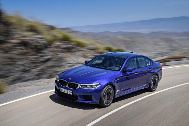 BMW M5 z tytułem World Performance Car 2018