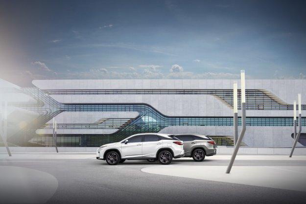 Lexus RX L każdy milimetr wykorzystany