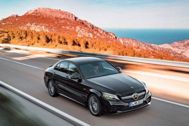 Jeszcze więcej mocy w nowym Mercedes-AMG C Klasa