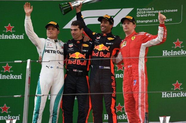Daniel Ricciardo z pierwszą wygraną w tym sezonie
