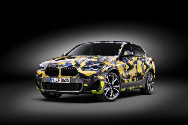 BMW X2 z nowym wyglądem Digital Camo