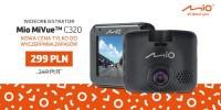 www.moj-samochod.pl - Artykuł - Wideorejestrator Mio MiVue C320 w promocyjnej cenie