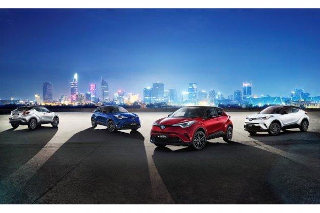 Toyota C-HR dołącza do samochodów z wersją Selection