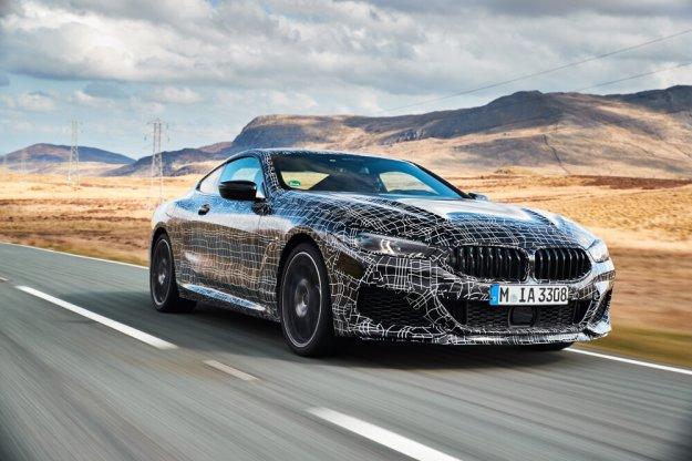 BMW serii 8 na ostatniej prostej przed wersją produkcyjną