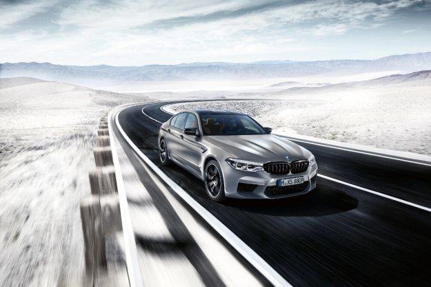 BMW M5 w swojej najlepszej odsłonie Competition