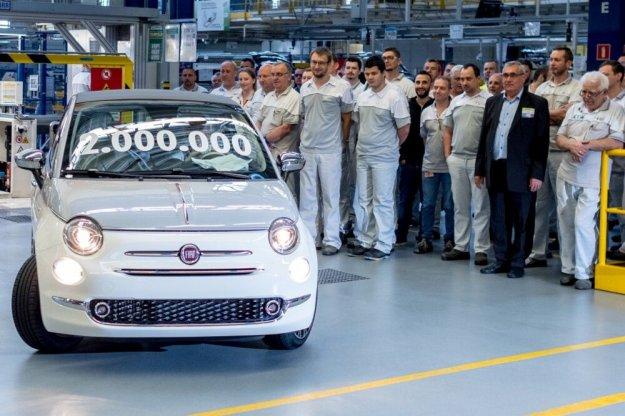 Dwa miliony Fiat 500 z fabryki w Tychach