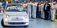 www.moj-samochod.pl - Artykuďż˝ - Dwa miliony Fiat 500 z fabryki w Tychach