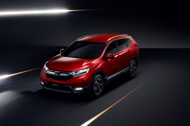 Honda CR-V w nowej odsłonie już na jesieni