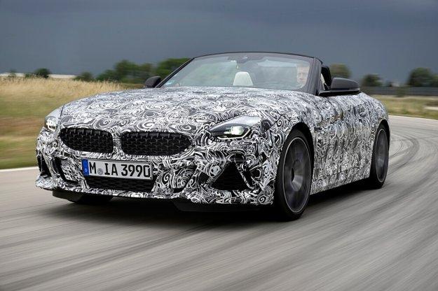 Nowy BMW Z4 na jeździe testowej