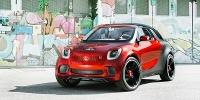 www.moj-samochod.pl - Artykuďż˝ - Smart jako pseudo kombi? Concept Forstars