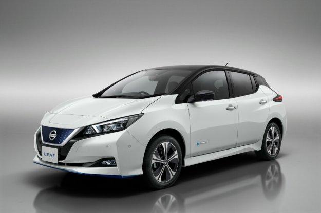 Nissan LEAF w nowej wersji 3.Zero