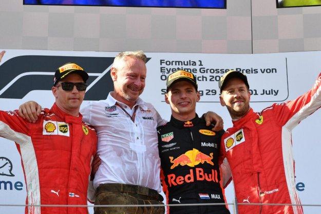Verstappen wygrywa podczas GP Austrii