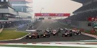 www.moj-samochod.pl - Artykuďż˝ - Vettel nie do powstrzymania, Indie zaliczone