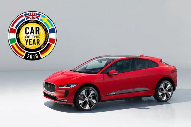 Elektryczny SUV Jaguar I-Pace samochodem roku