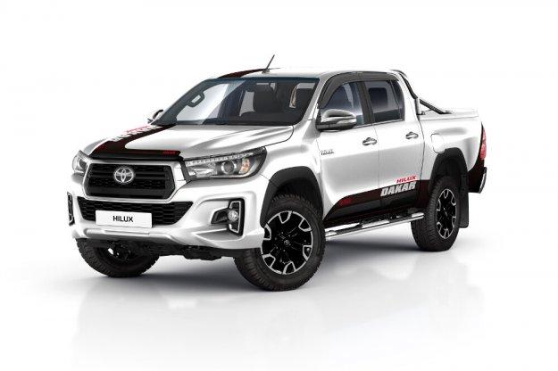 Toyota Hilux w nowej limitowanej wersji DAKAR 2019