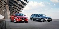 www.moj-samochod.pl - Artykuďż˝ - Nowa Mazda 6 - dwa nadwozia, ta sama cena