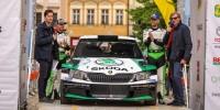 www.moj-samochod.pl - Artykuďż˝ - Marczyk w Skoda Fabia R5 zwycięzcą I rundy RSMP