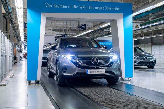 Ruszyła produkcja i sprzedaż elektrycznego Mercedesa