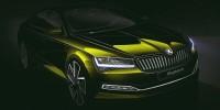 www.moj-samochod.pl - Artykuďż˝ - Pierwsze szkice nowej Skoda Superb