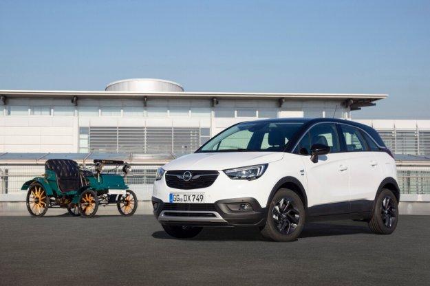 Specjalna edycja Opel Crossland X na 120 urodziny