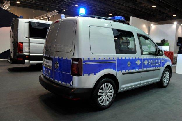 Nowe modele Volkswagena w służbie polskiej Policyjnej
