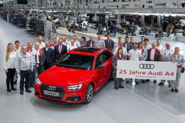 Audi A4 świętuje swój srebrny jubileusz