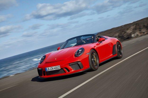 Porsche rozpoczyna produkcję Porsche 911 Speedster