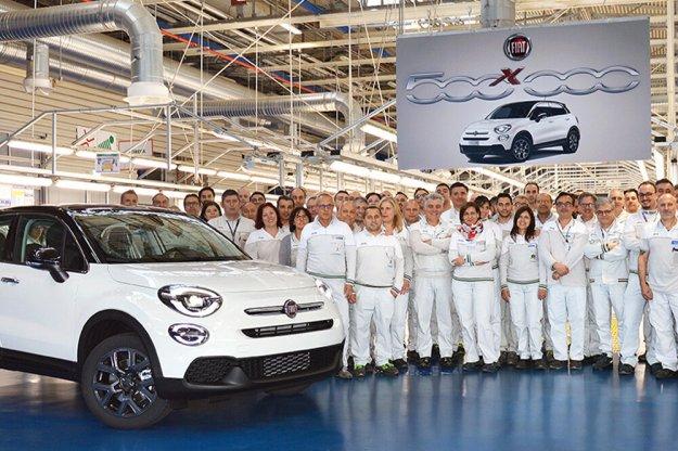 Pół miliona Fiat 500X wyprodukowanych