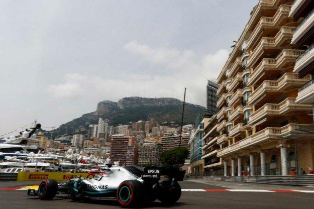 Mercedes pierwszy, Williams bez zmian także w Monako