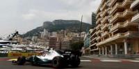 www.moj-samochod.pl - Artykuďż˝ - Mercedes pierwszy, Williams bez zmian także w Monako