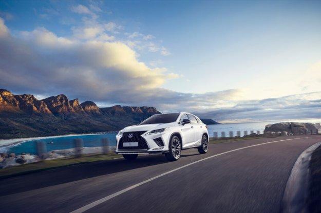Lexus RX czwartej generacji po liftingu
