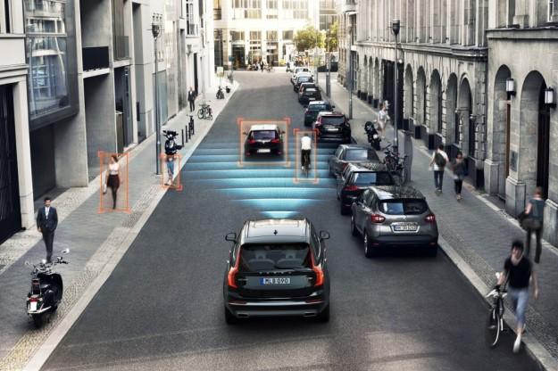 Volvo i POC testują bezpieczeństwo rowerzystów